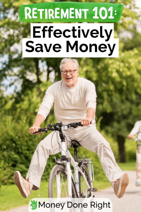 Find out how to successfully save money for your retirement without the hassle. #savemoneyforretirement #retirementnohassle