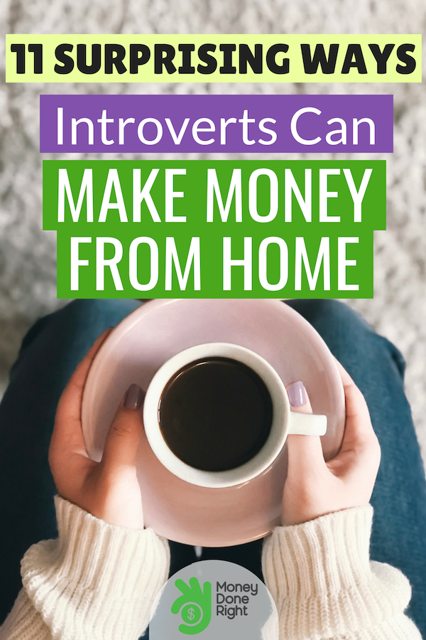 If you're an introvert seeking for opportunities to make money without the need to talk to people, you'll find this article interesting. #makemoneyforintroverts #makemoney