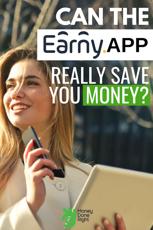 Earny App: is it a legit money-saving cash back app or is it a scam? Read our full article where we get into everything you want to know about Earny! #EarnyApp #SaveMoney