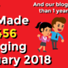Blog Income Report January 2018: How We Made $12,456 Blogging While Working Full-Time Jobs