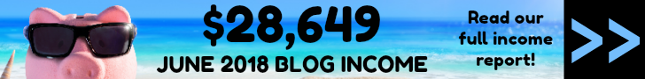 June 2018 Blog Income