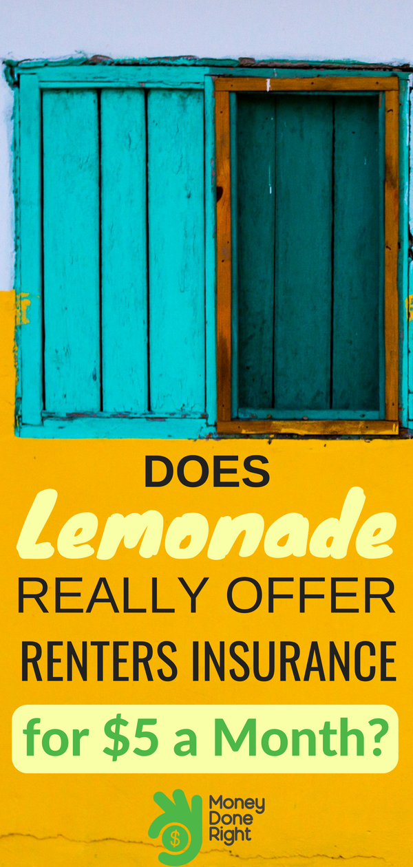 Don't get caught unprepared. Renters insurance is vital in case of an emergency. Here's our review of one option for insurance: Lemonade Renters Insurance. | #insurance #renter #rentersinsurance #lemonade