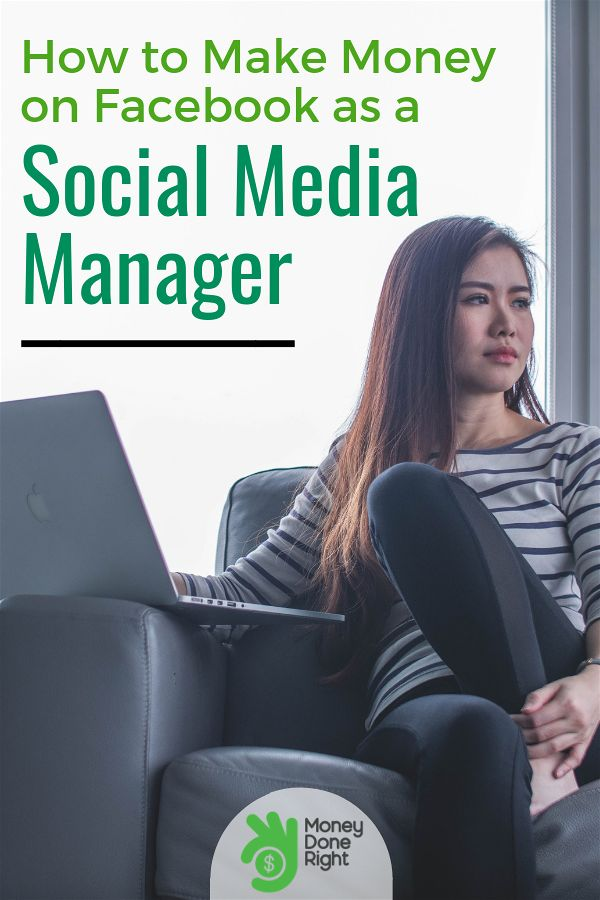 Make money on Facebook by being a social media manager. You just might have what it takes to avail of this opportunity #socialmediamanager #earnfromhome