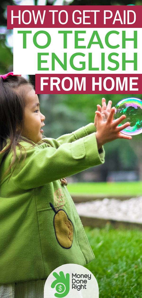 You can actually earn money by teaching kids English from home? If you love working with children and want a more flexible work schedule, check out QKids. | #ASL #teachenglish #workfromhome #qkids