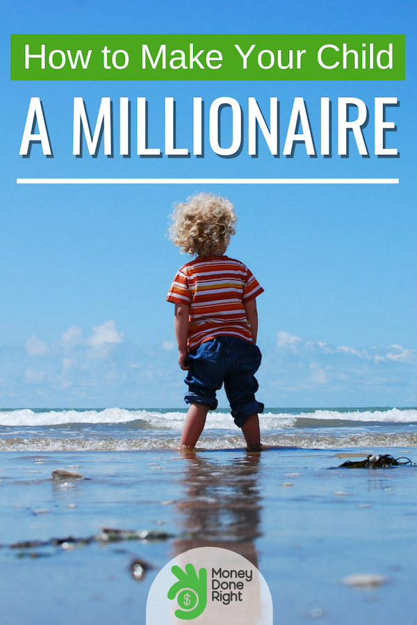 Give your children a headstart on the path towards becoming a millionaire. It's not that complicated. You only have to learn these things. #childmillionaires #RothIRA
