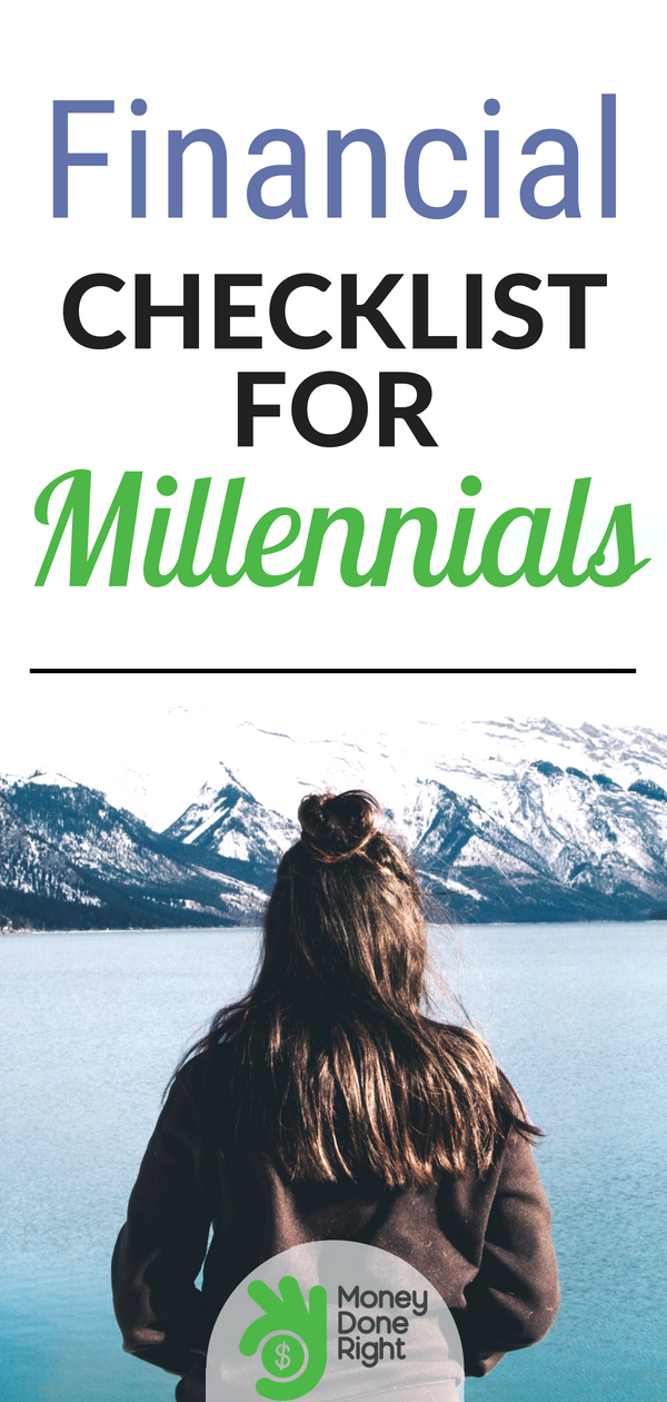 Hey, millennials: Here's your 25-step financial to-do list. Everything you need to know about getting your finances in order. | #millennials #personalwealth #money #advice