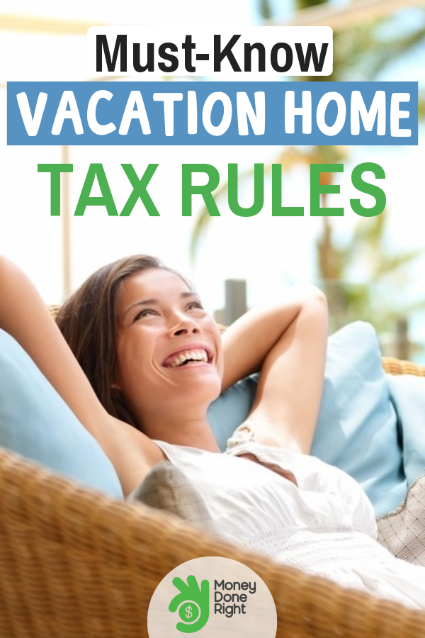 Vacation homes are not tax exempt and rules do apply. If you are wondering what the rules are, time to read this. #vacationhome #vacationhometaxrules