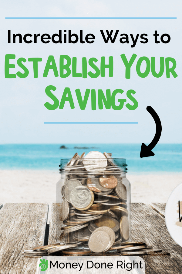 Do you find it hard to grow your savings? Try these money saving tips this year. #moneysavingtips #savewisely