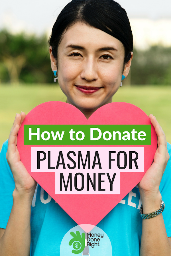Here's a helpful guide on how you can make money from donating plasma and what it means to donate it. #plasmaformoney #extrawaystomakemoney
