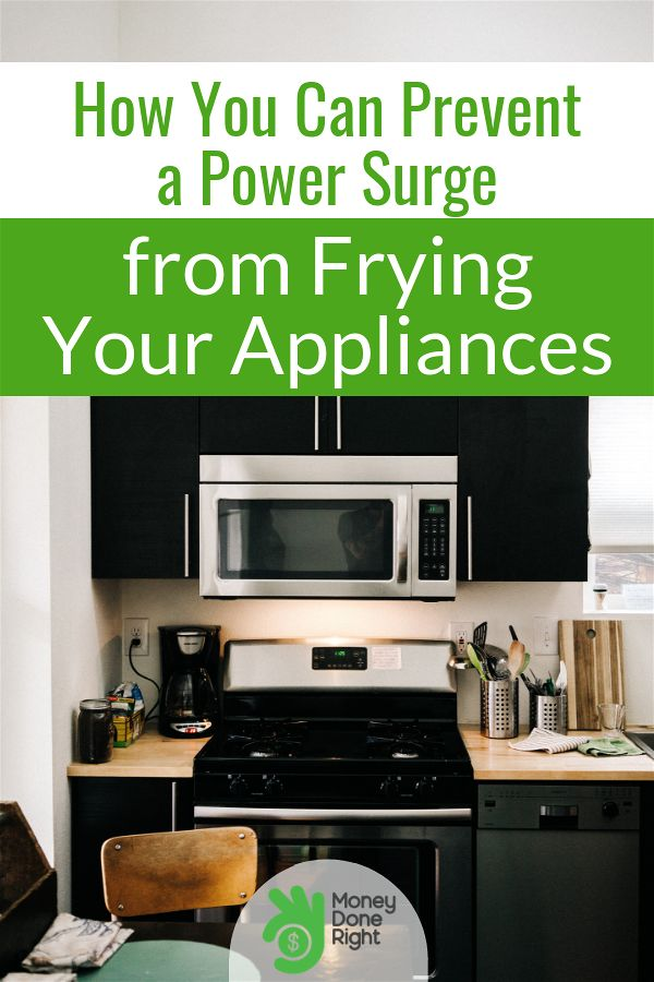 A power surge fried our appliances and here's what we did about it. #powersurge #preventpowersurgefromfryingappliances