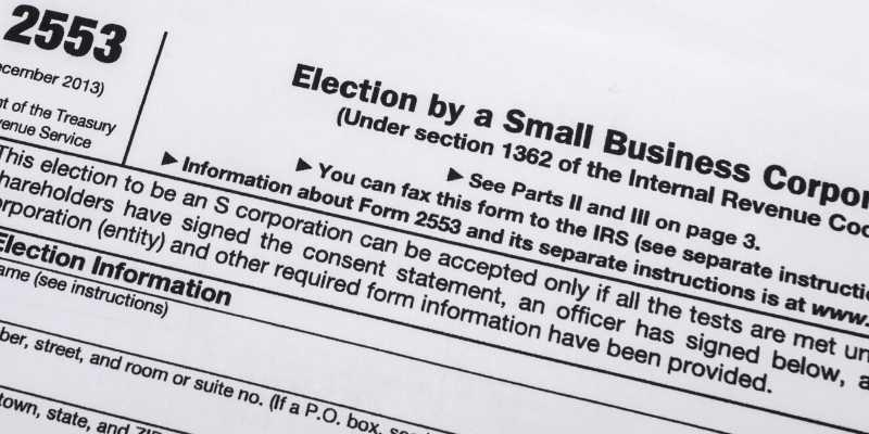 Retrieve or Prepare the Form 2553