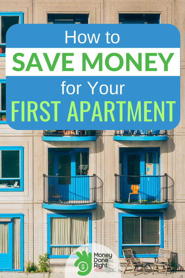 Saving up for an apartment? Check out our tips in this article that sho wyou how to save money to get your first apartment. #SaveUpForApartment #SaveMoney