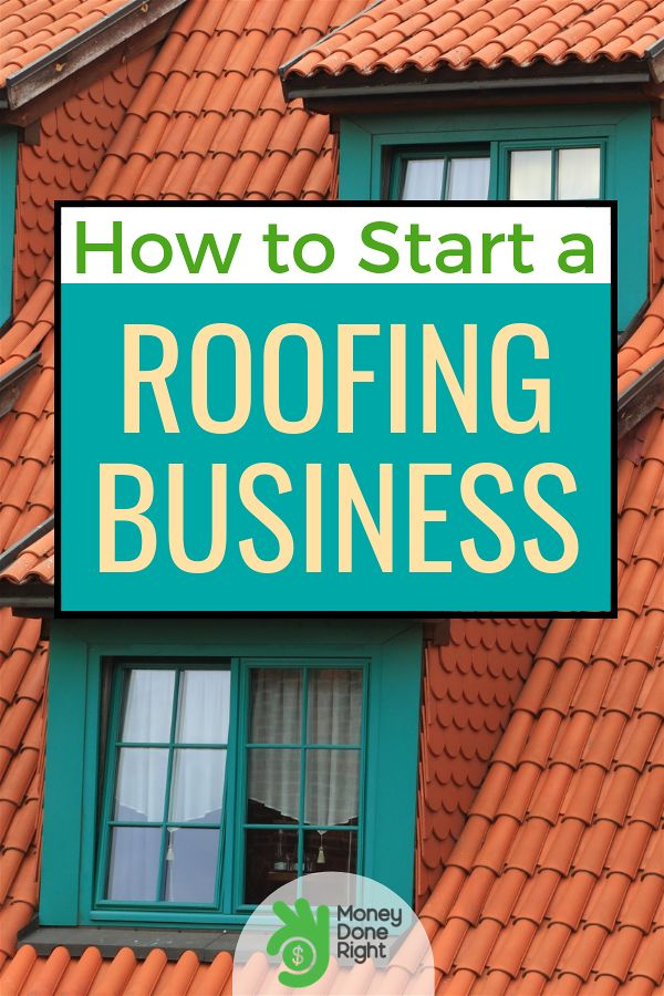 Are you thinking about starting your own roofing business? It may require more than the basic skills of fixing leaks and nailing down shingles but if you learn the rules you'll find it to be a profitable and satisfying enterprise. #roofingbusiness #howtostartaroofingbusiness