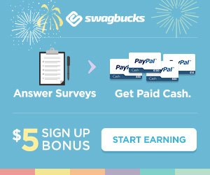 Swagbucks Sign up Bonus