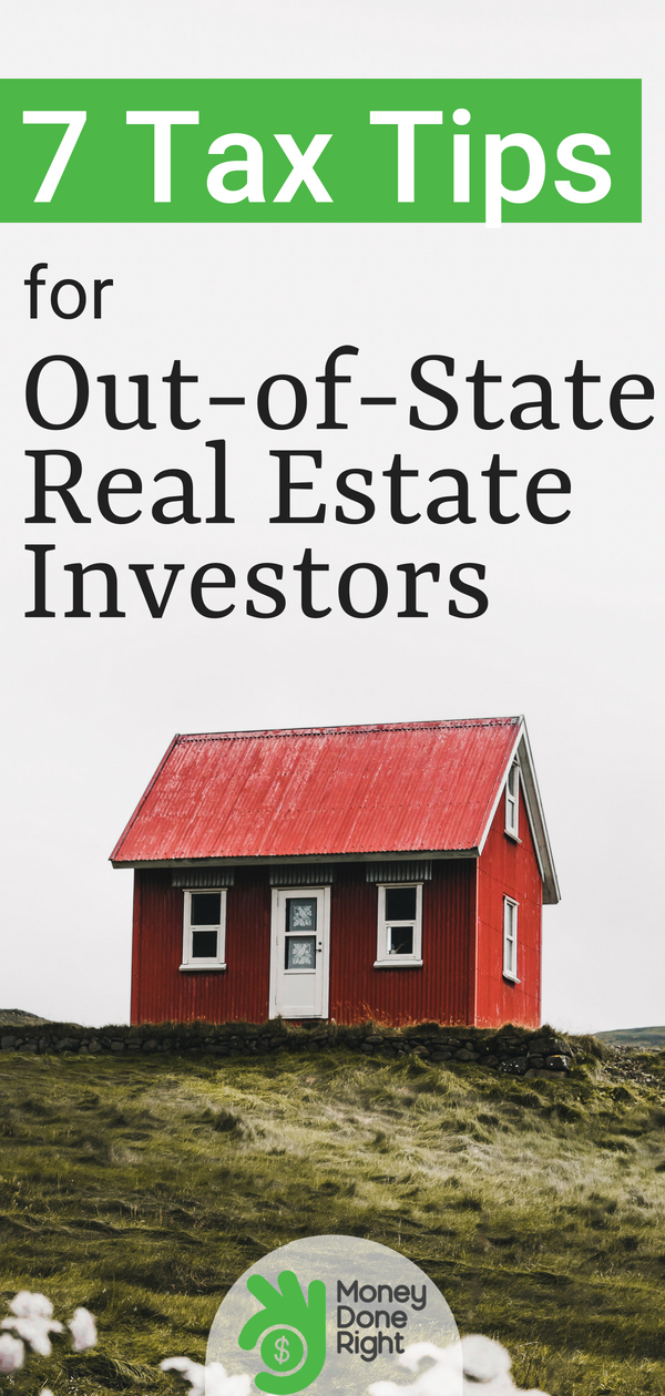 Investing in real estate out-of-state can be tricky. Here are our 7 tax tips for out-of-state and turnkey investors.   #investments #realestate #taxes #financialadvice