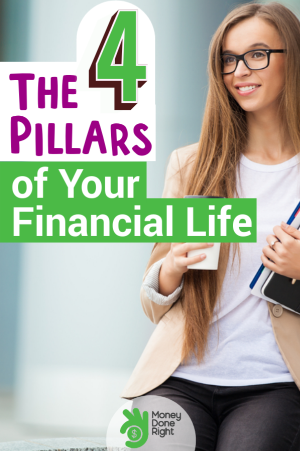 If you're serious about getting better financially then you definitely have to consider these four financial pillars. #financialpillars #financialsuccess