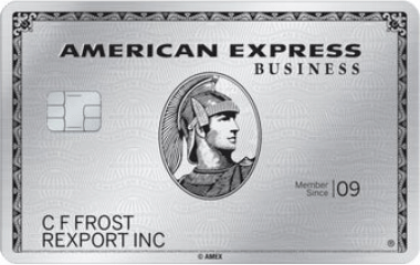 The Business Platinum Card from American Express