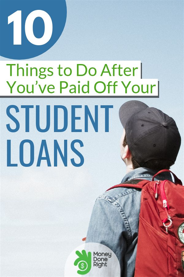 After paying off your student loans, you need to determine next where to place that newfound monthly cashflow. Here are 10 things we suggest. #studentloan #debtfree
