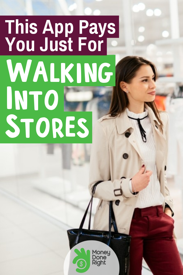 Walk into stores and get paid using the Shopkick app. Download the app and start using it. #Shopklck #walkintostoresandgetpaid