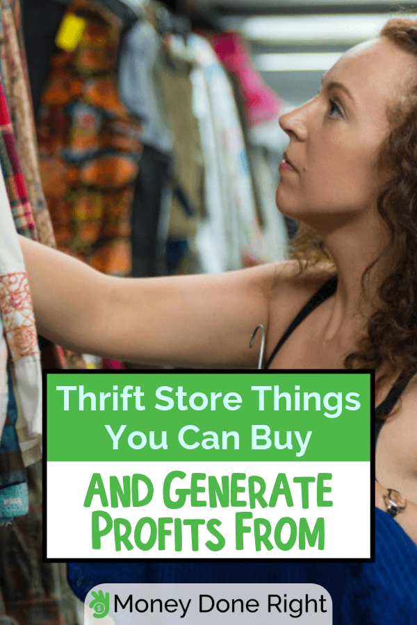 "The saying that ""frugality makes a poor man rich"" is very evident and can be proven by anyone who practiced prudence for their gain. Of course, thrift shops are the go-to place for frugal spending. You might want to check this list for items that you can buy and sell for profit, before hitting the nearest store. #thriftstoreflipping #thriftshopgains"