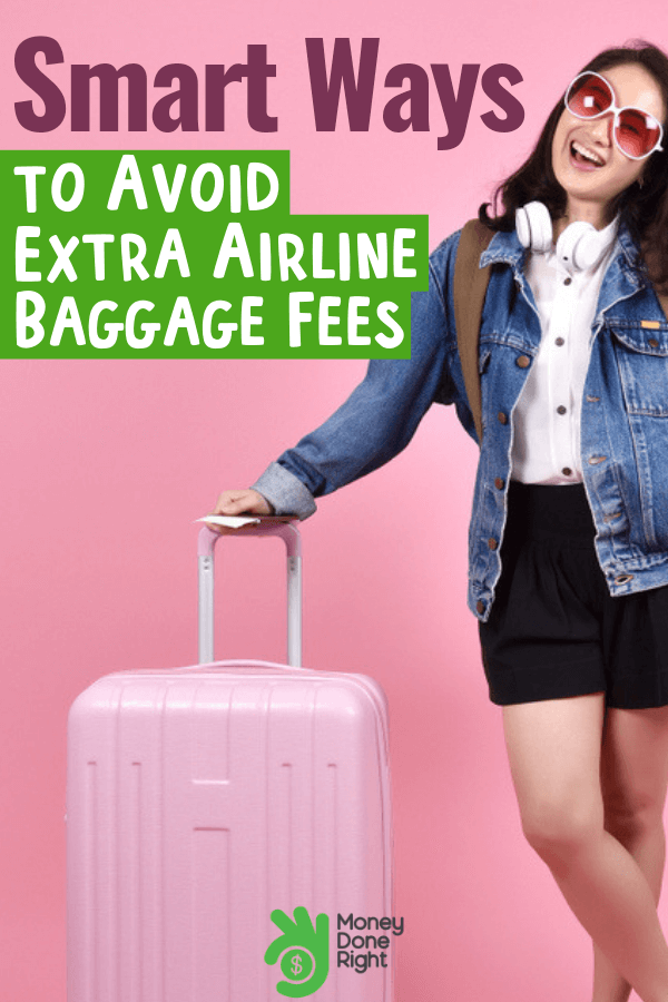 Why spend several hundreds of dollars on an airline baggage if you could get it cheaper? Here's how. #spendless #cheaperbaggage
