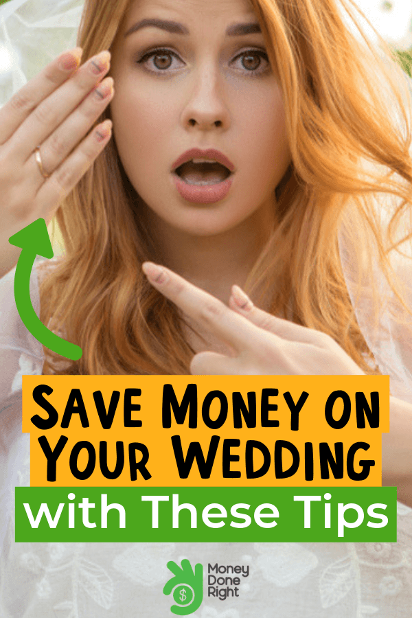 Weddings are a once in a lifetime event and expectations from people can be too high. So, here's some wedding tips to save money without compromising the quality of your wedding. #onceinalifetimeevent #savemoneyonweddings