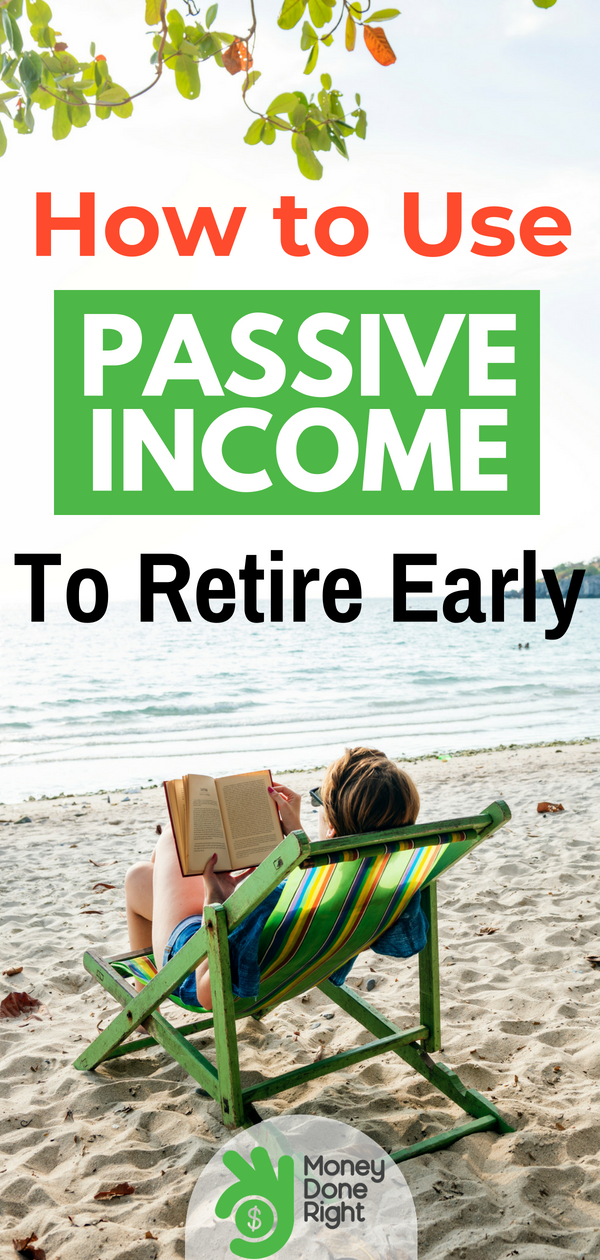 Jesse needed a change in his life and an escape from corporate America. Here's how he earned passive income and retired early. | #passiveincome #earlyretirement #financialadvice
