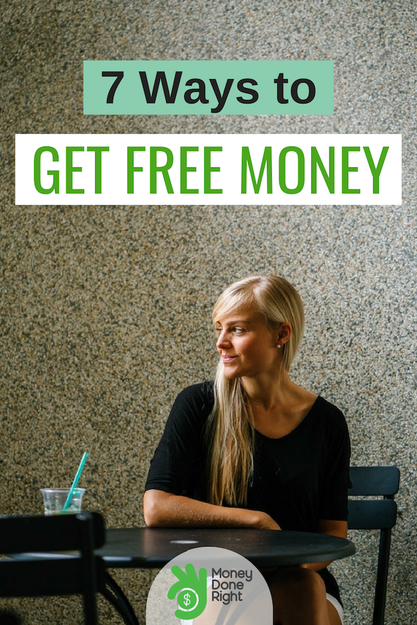 Free money is great. Check out these amazing ways to get free money today. #MakeMoney #FreeMoney