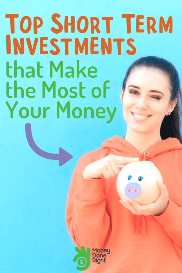 Are you thinking of other ways to invest your money? Here are the best short term investments for you. #waystoinvest #shortterminvestment