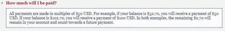 Cash Surveys Panda Research - Payment Info