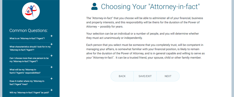 choosing your attorney in fact