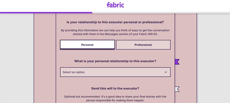 fabric will executor