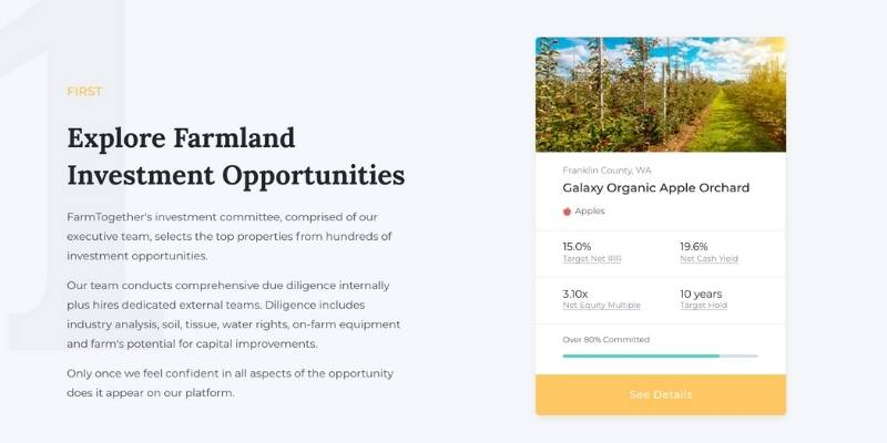 farmland investment opportunities offerings