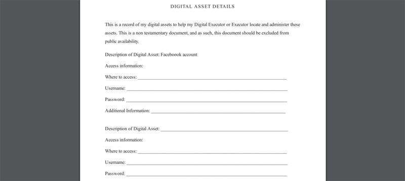 freewill digital asset details
