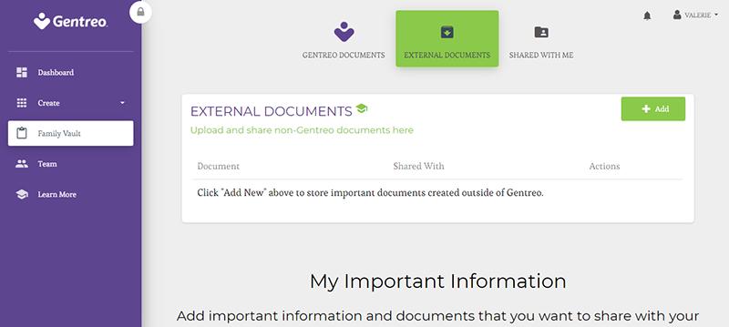 gentreo external documents