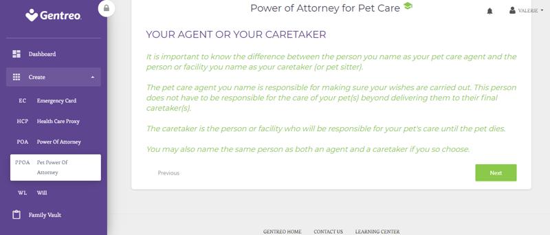 gentreo power of attorney