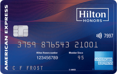 hilton honors aspire from american express