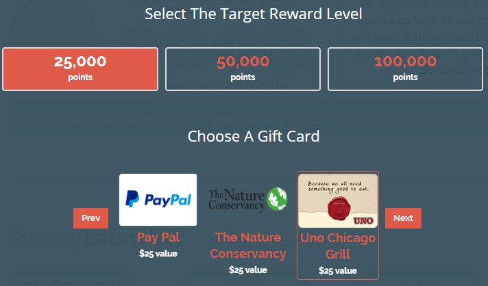 Legitimate Paid Surveys Point Club - Rewards