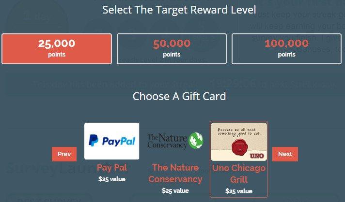 Legitimate Paid Surveys Point Club - Rewards