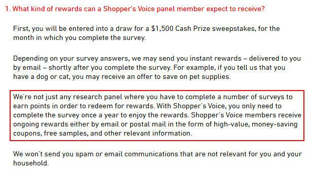 Online Survey Shopper's Voice - What This Survey Site Really Does