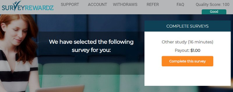 Online Survey Survey Rewardz - Available Surveys