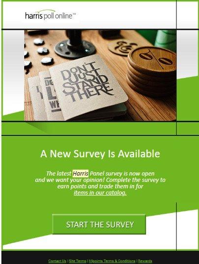 Online Surveys Harris Poll - Email Survey