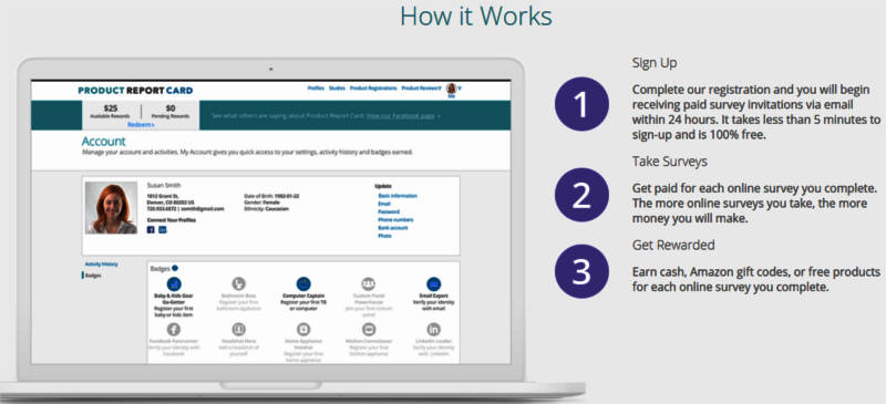 Online Surveys Product Report Card - How it Works