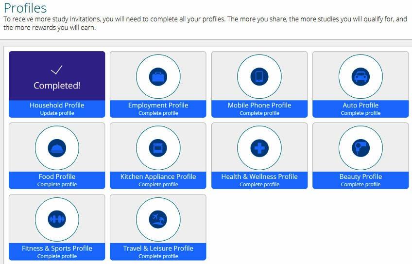 Online Surveys Product Report Card - Profile Surveys