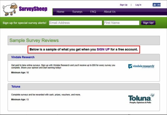 Online Surveys Survey Sheep - Explanation