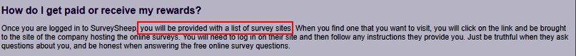 Online Surveys Survey Sheep - Explanation 2