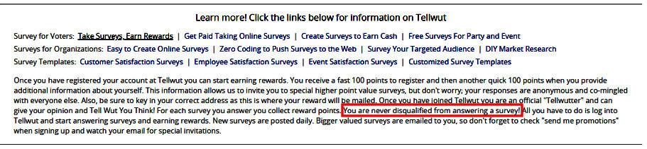 Online Surveys Tellwut - Claims