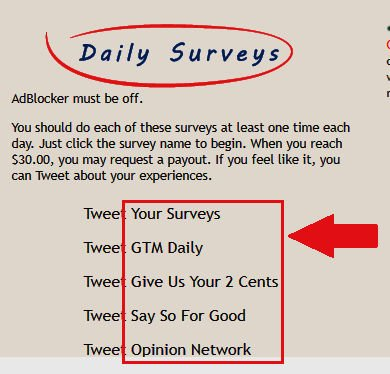 Paid Surveys Cashback Research - Daily Surveys