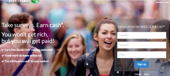 Paid Surveys Cashback Research