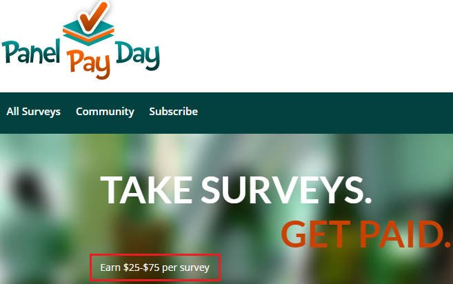 Paid Surveys Scam Panel Pay Day - Claim